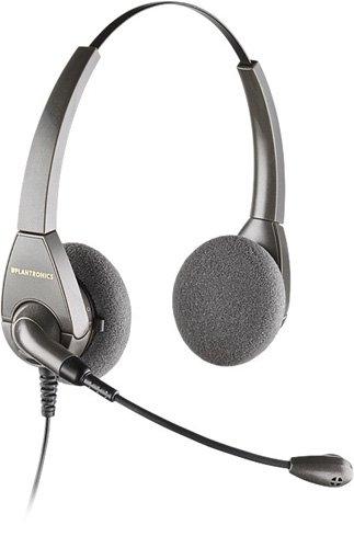 Plantronics H101N - Encore Binaural Over-the-Head Telephone Headset w/Noise Canceling (Encore Binaural Headset)