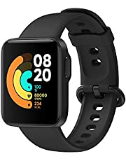 Xiaomi Mi Watch Lite Smartwatch, waterdicht, slaapmonitor, sporthorloge voor hartslagbewaking, muziekbesturing, berichtenmeldingen