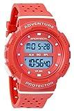 SPORTECH Women's/Girls' | Red & White Digital Water-Resistant Sports Watch | SP12703