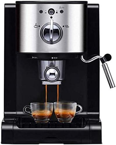 KaiKai Café Espresso máquina de los 20 Bar, Todo-en-uno for café en Polvo, cápsulas de Nespresso y Espresso portátil Paquetes de Espuma de Leche Espuma, 1350W, 1.5L Capacidad de Vapor Boquilla: Amazon.es: