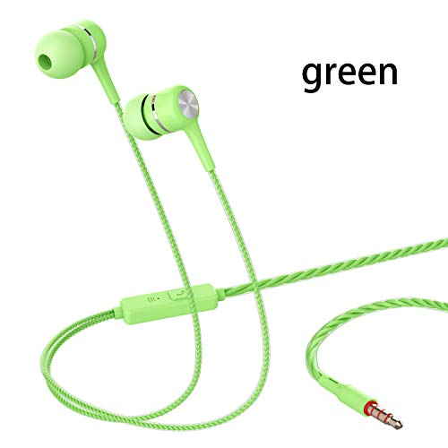 Heavy bass earphone Color Call with Mic