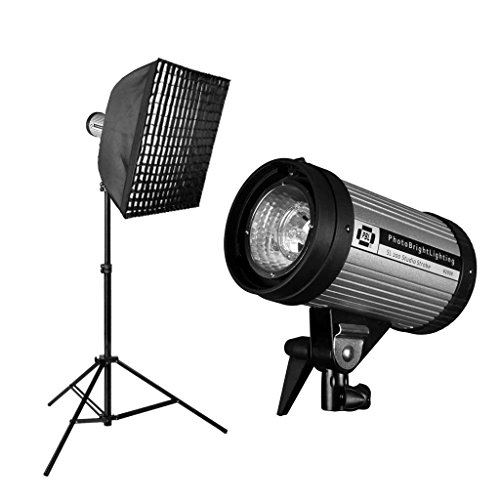 PBL Studio Photo Light Kit 24in x 24in Softbox Grid 200 w/s from PBL