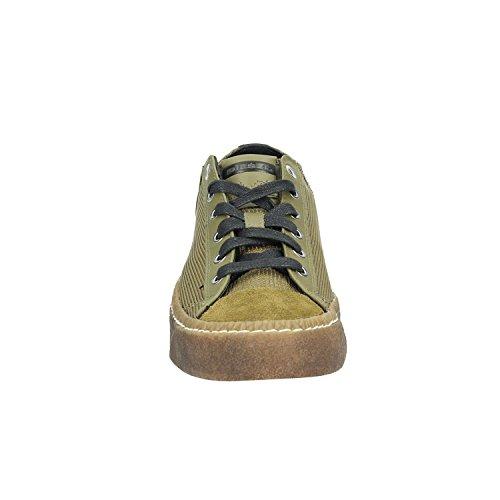 Diesel Uomo Olive Exposure Low I Sneaker Olive Drab