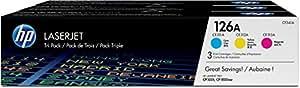 HP CF341A - Pack de ahorro de 3 cartuchos LaserJet HP 126A
