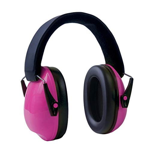 Ugthe Baby Safety Portable Children Hearing Protection Ear Muffs Adjustable Headband Ear Defenders - Pink from Ugthe