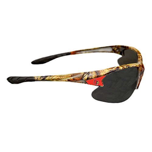 Purchadise NCAA Camouflage Sunglasses - UVA and UVB Protection-Many Teams! (Louisville Cardinals)