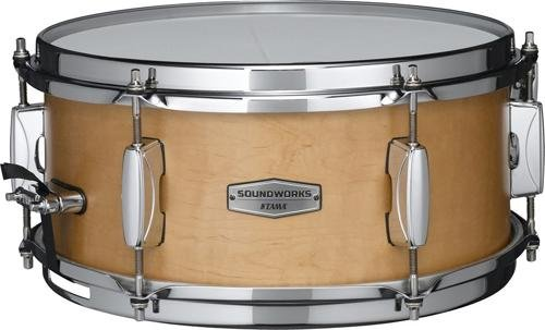 Tama Soundworks Maple Snare Drum 12 x 5.5 in. (Satin Drum Maple Snare)