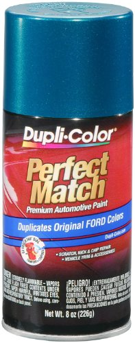 Dupli-Color BFM0328 Cayman Green Metallic Ford Exact-Match Automotive Paint - 8 oz. Aerosol - Ford Green