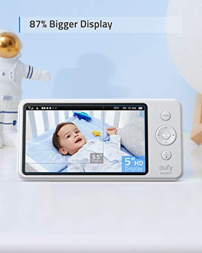 "eufy Security SpaceView Baby Monitor with 5"" LCD Display"