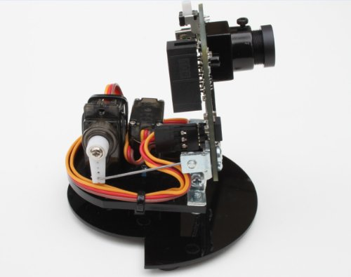 Pan tilt servo motor kit for pixy cmucam5 2 axis for Motorized video camera mount