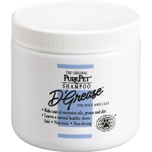 PurePet D-Grease Dog and Cat Shampoo, 40-Ounce
