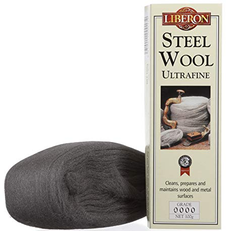 Liberon Steel Wool, 100g (3.5 oz), Grade 0000