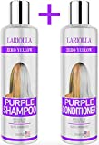 Best Blonde Hairs - (2-PACK) Best Purple Shampoo and Conditioner for Blonde Review
