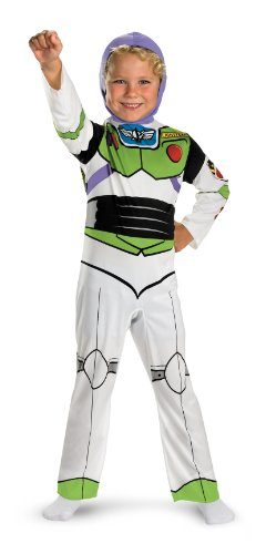 Buzz Lightyear Classic - Size: 3T-4T (Story Of Halloween Costumes)