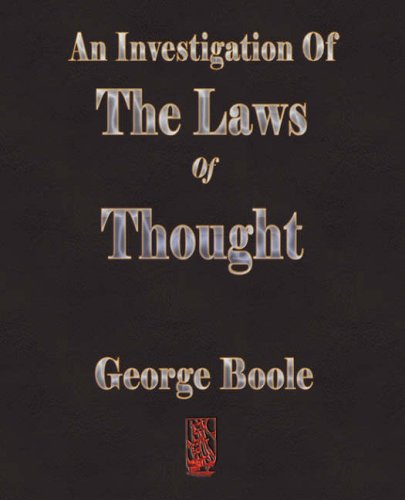 Download An Investigation Of The Laws Of Thought ebook