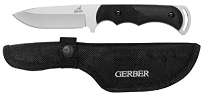 Gerber Freeman Guide Fixed Blade Knife, Fine Edge, Drop Point [31-000588]