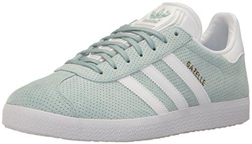 adidas Originals Gazelle W Sneaker Tastgrün / Weiß / Gold Metallic