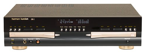 Dual Recorder Deck Cd - Harman Kardon CDR 2 CD Player/Recorder (Discontinued by Manufacturer)