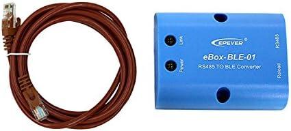 EPEVER eBox-BLE-01 RS485 auf Bluetooth-Adapter MPPT Solarladeregler Kommunikation Drahtlose Überwachung durch Android/IOS-Mobiltelefon-APP(eBox-BLE-01)