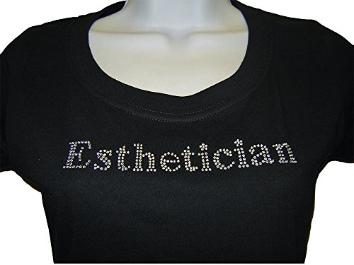 JMT Women's Esthetician Rhinestone T-shirt (Large, ()