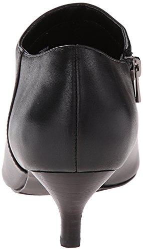 Womens Full Pump Pearl Grain Black Nappa Leather Soft Trotters wvTaqw