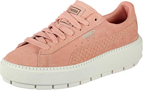 Animal Trace Suede Puma Chaussures Rose W Platform wxSEqE6t4