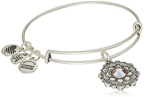(Alex and Ani Mother of The Bride Rafaelian Silver Bangle Bracelet)