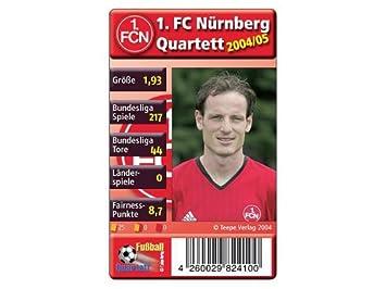 Fussball Quartett 1 Fc Nurnberg Amazon De Spielzeug