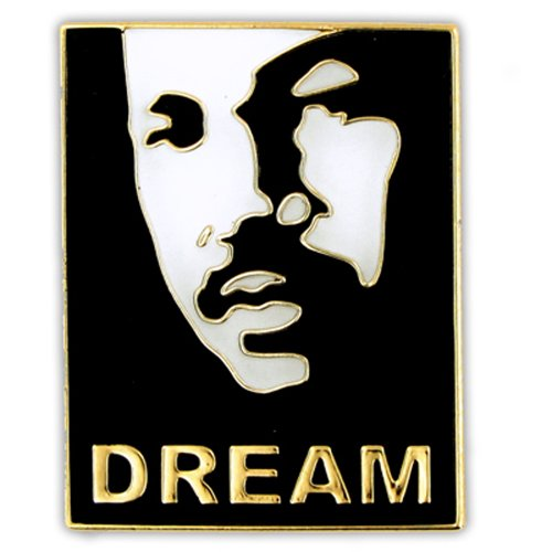 PinMart's Martin Luther King Dream MLK Day Lapel Pin - Life Lapel Pin