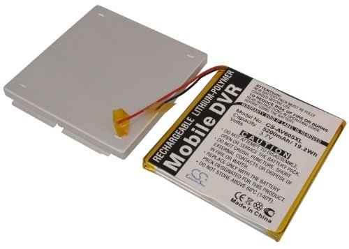 Replacement Battery for ARCHOS AV605 120GB, AV605 WiFi 120GB