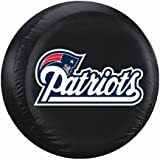 New England Patriots Large Size Black Tire Cover