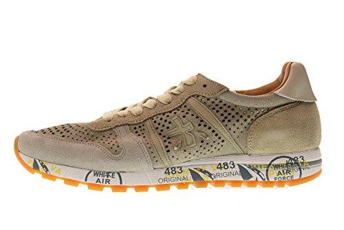 PREMIATA Scarpe Uomo Sneakers Basse Eric 3140 beige