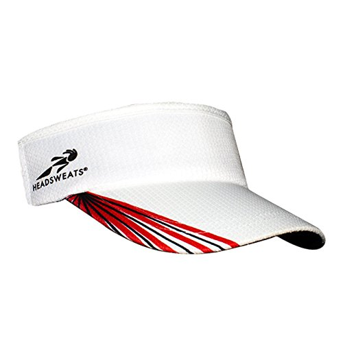 - Headsweats Supervisor Grid Headwear, Red/Black/White, One Size