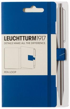 116 opinioni per Leuchtturm 1917- Anello laterale porta penna per agenda, supporto adesivo blu