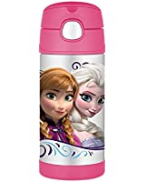 Thermos Funtainer 12 Ounce Bottle, Frozen Pink