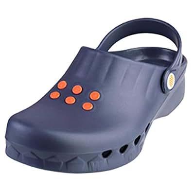 Wock Blue Flat Sandal For Women
