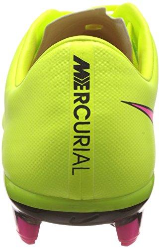 Nike Mercurial Veloce II FG - Zapatillas de fútbol para hombre Amarillo (volt/hyper pink-black 760)