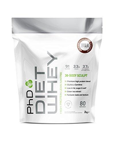 PhD Nutrition Diet Whey Protein Powder, 2 kg -...