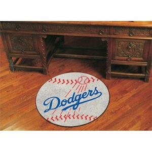 Fanmats Baseball Floor Mat - Los Angeles Dodgers