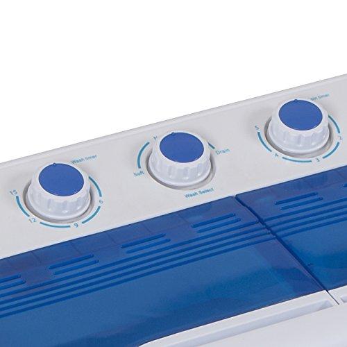 Della Mini Electric Washing Machine Home Twin Tub 8 8lbs