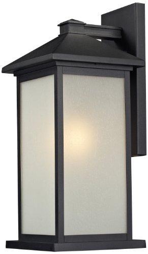 Z-Lite 547B-BK One Light Outdoor Light by Z-Lite Lighting [並行輸入品] B018A2WTY4