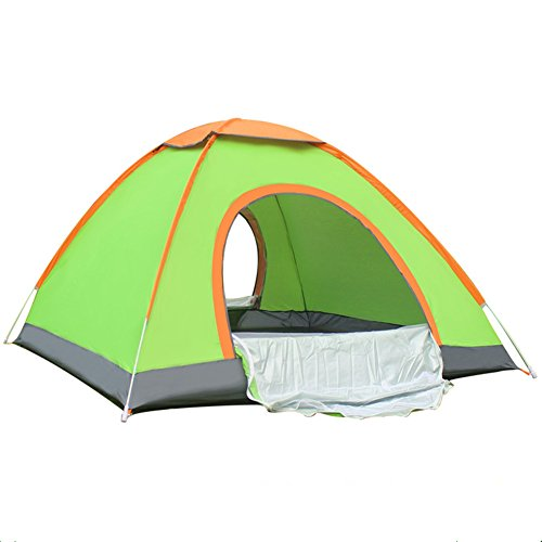 DKISEE 2 Person Tent Camping Instant Tent Waterproof Tent Backpacking Tents for Camping Hiking Traveling with Carrying Bag, Green
