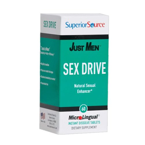 Superior Source Just Men Sex Drive 60 count by Superior Source