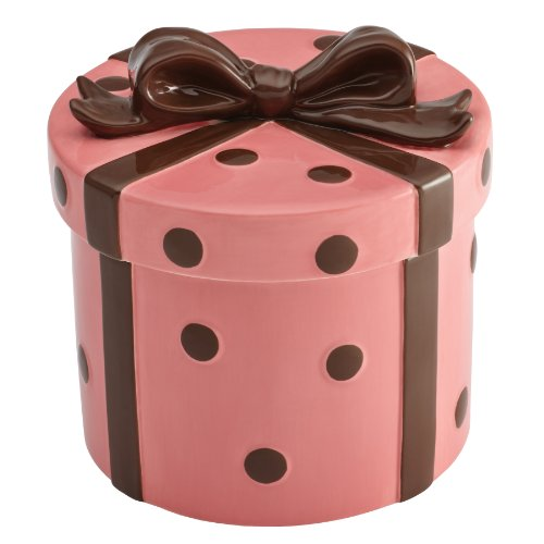 - Cake Boss Novelty Hand-Painted Ceramic Cookie Jar - Present style by Cake Boss