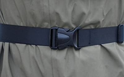 "FishYo! Deluxe 1.5"" Wading Belt-by BootYo! Best piece of fishing safety gear you can own! Fly fishing, surf casting, tons of uses"