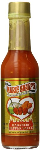 Marie Sharp's Fiery Hot Habanero Pepper Sauce, 5 Ounce