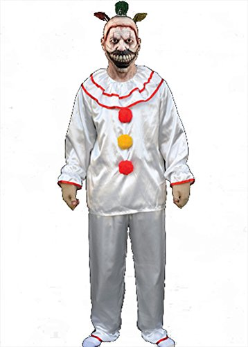 Trick Or Treat Studios Halloween 6 (Trick or Treat Studios Men's American Horror Story-Twisty The Clown Costume, Multi, One)