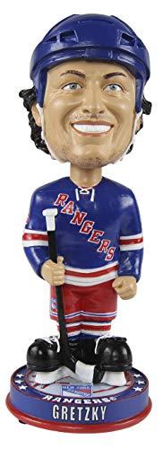 FOCO Wayne Gretzky New York Rangers Knucklehead Big Head Bobblehead NHL