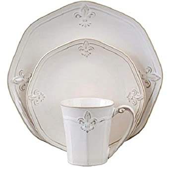 Amazoncom Better Homes and Gardens Country Crest 16 Piece