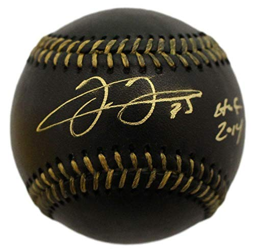 Frank Thomas Autographed Chicago White Sox OML Black Baseball HOF JSA ()